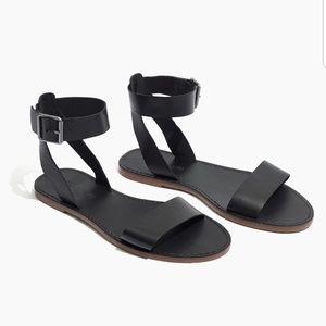Black Boardwalk Madewell Sandals
